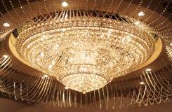 uroczysty świecznika kryształ Obraz Stock