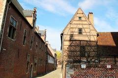 Uroczysty Béguinage Leuven Fotografia Stock