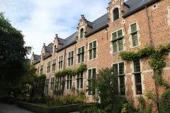 Uroczysty Béguinage Leuven Fotografia Royalty Free