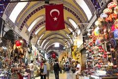 Uroczysty Bazar w Istanbuł Zdjęcia Stock