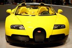 Uroczysty Bugatti Sport Veyron 16.4 obrazy royalty free
