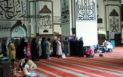 uroczysty Bursa meczet Zdjęcia Royalty Free