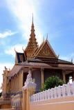 uroczysty Cambodia pałac fotografia stock