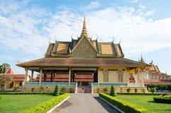 uroczysty Cambodia pałac Fotografia Royalty Free