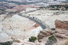 Uroczysty Escalante Krajowego zabytku Utah usa Zdjęcia Royalty Free