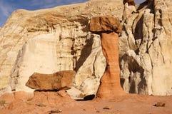 Uroczysty Escalante Krajowy zabytek, Utah, usa zdjęcie stock