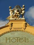 uroczysty europa hotel fotografia stock
