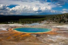 uroczysty graniastosłupowy Yellowstone Zdjęcie Royalty Free