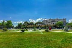 Uroczysty hotel, Rimini, emilia, Włochy Obraz Royalty Free