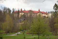 Uroczysty Hotelowy Praha w Tatranska Lomnica Obraz Royalty Free
