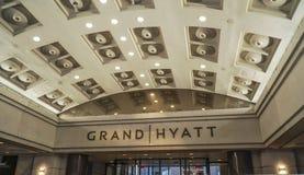 Uroczysty Hyatt hotel w washington dc KOLUMBIA, KWIECIEŃ - 7, 2017 - washington dc - Zdjęcia Royalty Free