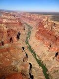 Uroczysty jar i Kolorado rzeka Zdjęcia Stock