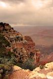 uroczysty jaru park narodowy usa Fotografia Royalty Free
