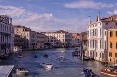 Uroczysty kanał, Wenecja Obrazy Royalty Free