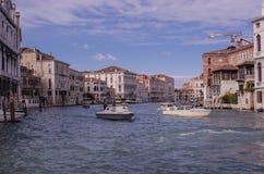 Uroczysty kanał, Wenecja Zdjęcie Royalty Free