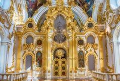 Uroczysty kościół zima pałac, eremu muzeum, St Petersb Obrazy Stock