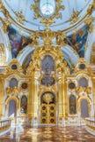 Uroczysty kościół zima pałac, eremu muzeum, St Petersb Fotografia Stock