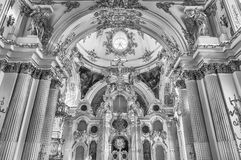 Uroczysty kościół zima pałac, eremu muzeum, St Petersb Zdjęcie Stock