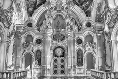 Uroczysty kościół zima pałac, eremu muzeum, St Petersb Zdjęcia Royalty Free