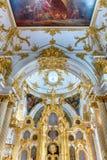 Uroczysty kościół zima pałac, eremu muzeum, St Petersb Fotografia Royalty Free