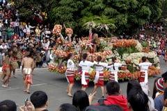Uroczysty kwiatu pławika festiwal Zdjęcia Royalty Free