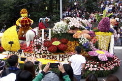 Uroczysty kwiatu pławika festiwal Obraz Stock