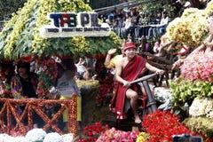 Uroczysty kwiatu pławika festiwal Zdjęcie Royalty Free