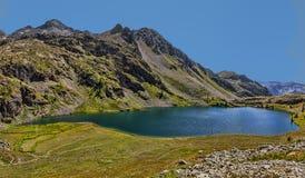 Uroczysty Lac od Lacs De Vens Zdjęcia Stock