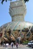 Uroczysty Lisboa hotel w Macau Zdjęcia Stock