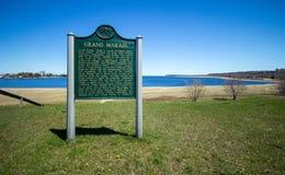 Uroczysty Marais Michigan Obraz Royalty Free