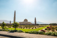 Uroczysty meczet, muszkat, Oman Fotografia Stock