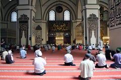 Uroczysty meczet przy Bursa Zdjęcie Royalty Free