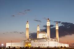 Uroczysty meczet w Nizwa, Oman Zdjęcia Royalty Free