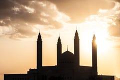 Uroczysty meczet w Nizwa, Oman Fotografia Royalty Free