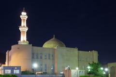 Uroczysty meczet w Nizwa, Oman Obrazy Stock