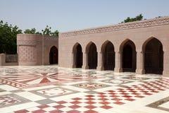 uroczysty meczetowy muszkatołowy Oman zdjęcie stock