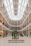 Uroczysty obywatela muzeum Szkocja Obrazy Royalty Free