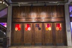 Uroczysty ole opry wejściowy drzwi Obrazy Royalty Free