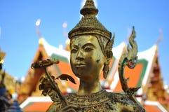 Uroczysty Pałac i Buddha Szmaragdowa Świątynia, Półdupki Obraz Royalty Free