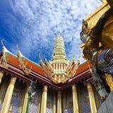 Uroczysty pałac Bangkok Zdjęcie Royalty Free