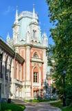 Uroczysty pałac Catherine Wielki w Tsaritsyno, Moskwa Obraz Royalty Free