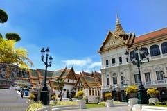 Uroczysty pałac królewski Zdjęcie Royalty Free