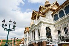 Uroczysty pałac Tajlandia Zdjęcia Royalty Free