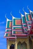 Uroczysty pałac w Tajlandia, Fotografia Royalty Free