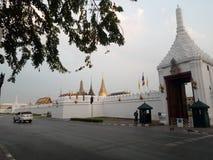 Uroczysty pałac w Thaialnd Zdjęcia Royalty Free
