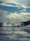 uroczysty park narodowy graniastosłupowy Yellowstone Zdjęcia Stock
