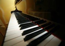 Uroczysty pianino Obrazy Stock