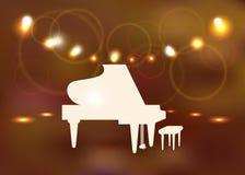 Uroczysty pianino Obraz Stock