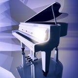 Uroczysty pianino na scenie Zdjęcia Stock
