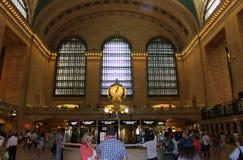 Uroczysty Środkowy Terminal, Nowy Jork Zdjęcia Royalty Free